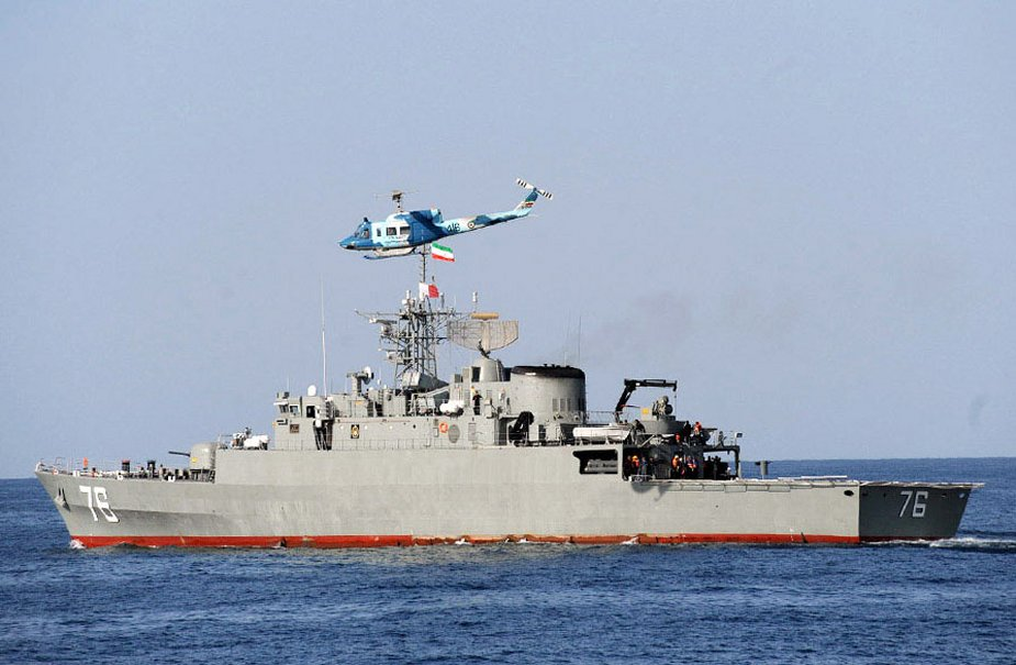 البحرية الروسية والإيرانية تبدأن مناورات مشتركة في المحيط الهندي Russia28