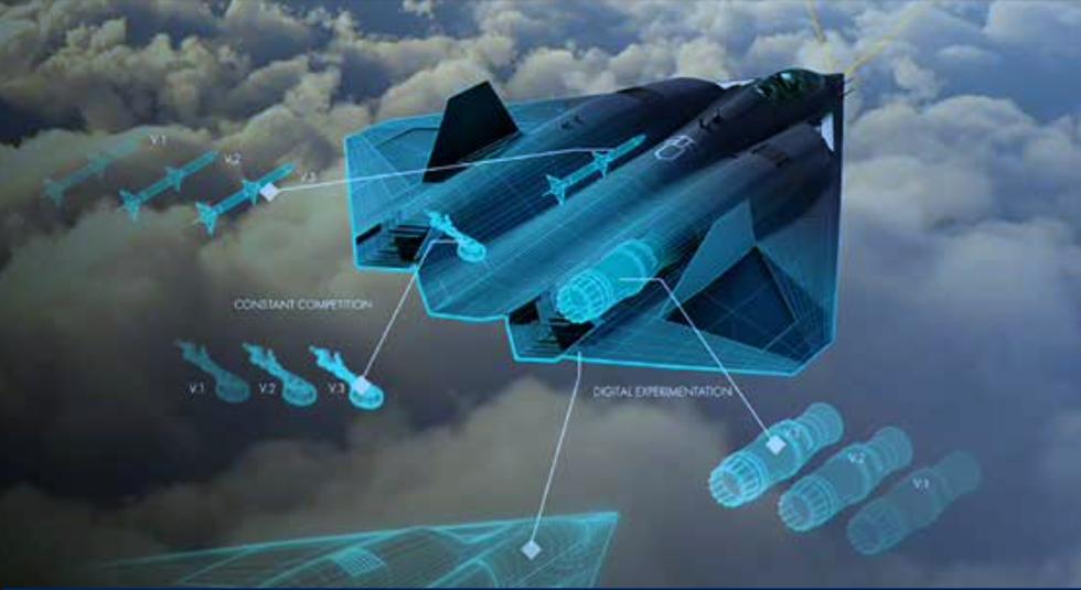 نظرة أولية لطائرة الجيل السادس (NGAD) الغامضة لسلاح الجو الأمريكي. Screen13