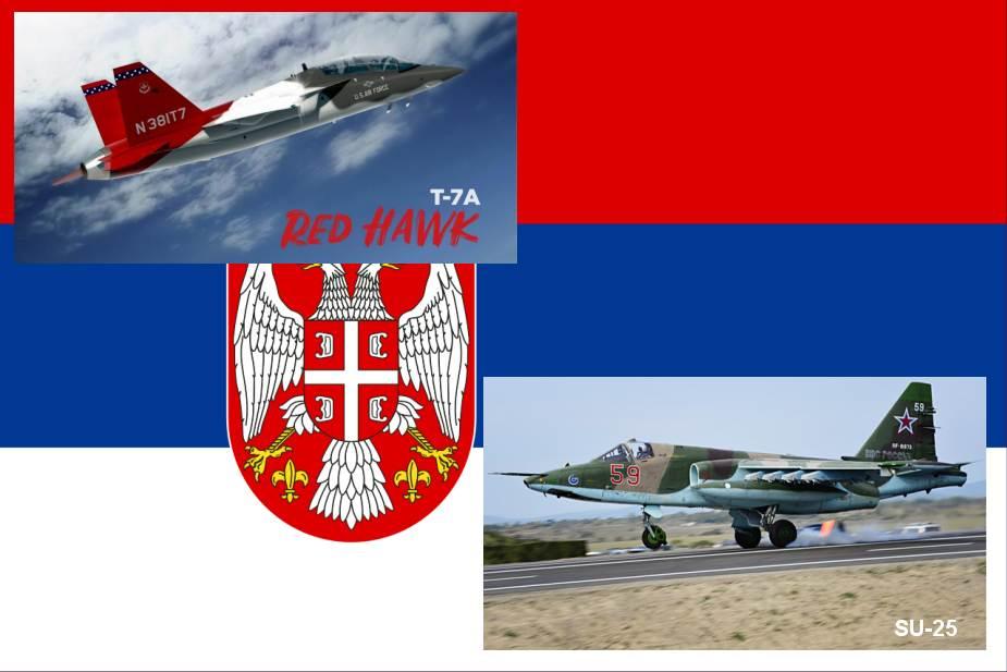 صربيا تطلب شراء 20 طائره مقاتله قاصفة من الولايات المتحدة Serbia10