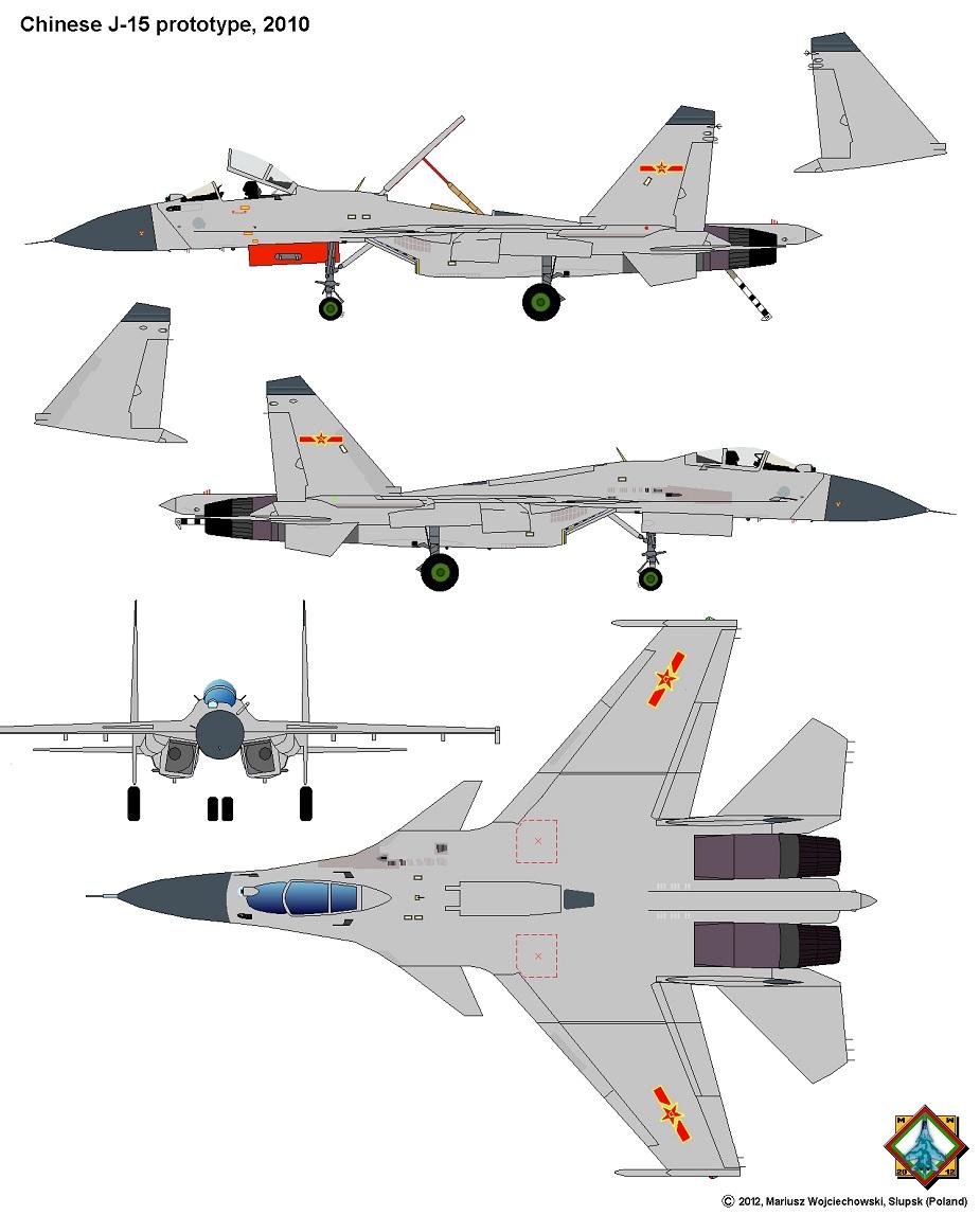 مقاتلة SHENYANG J-15 الصينية العاملة على حاملات الطائرات Shenya10