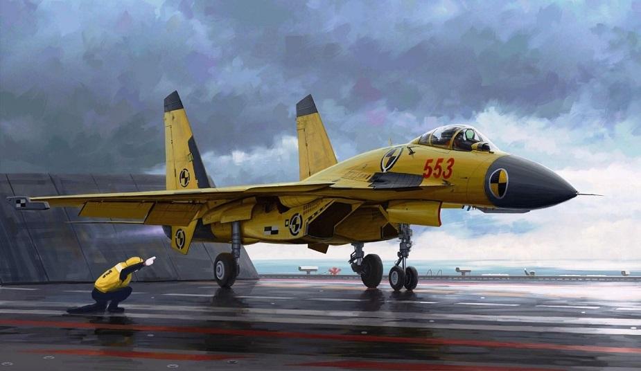 مقاتلة SHENYANG J-15 الصينية العاملة على حاملات الطائرات Shenya11