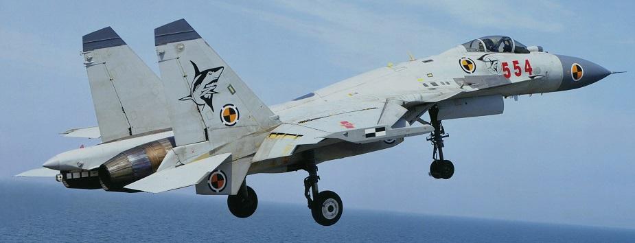 مقاتلة SHENYANG J-15 الصينية العاملة على حاملات الطائرات Shenya12
