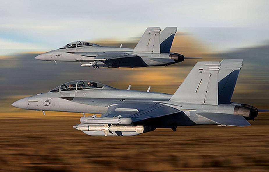 مميزات جديدة للمقاتلة  F/A-18  Super Hornet الكويتية Sniper10