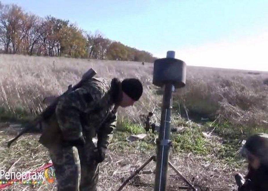 صور تظهر مدافع هاون صامته في الدونباس شرق اوكرانيا  Suppos10