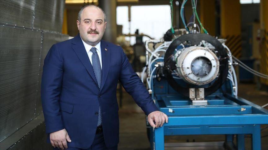 وزير الصناعة التركي يشهد اختبار محرك Kale KTJ-3200 النفاث (محلي الصنع) Thumbs11
