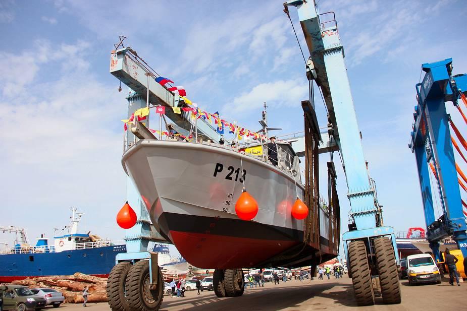 """البحرية التونسية تتسلم زورق الدوريات الرابع من فئة الاستقلال """"اEl Jem"""" المحلي الصنع Tunisi11"""
