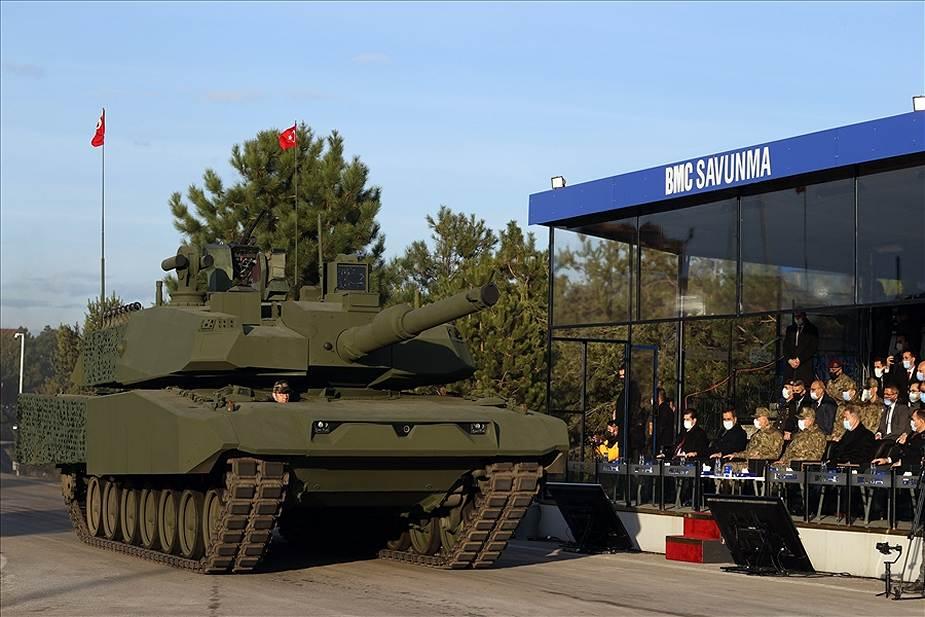 تركيا تكشف عن تحديث جديد لدبابة Leopard 2A4 مزودة ببرج دبابة Altay التركية. Turkey13