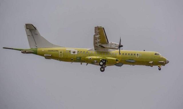 شركة TAI تستلم اول طائره ATR 72-600 للدوريه البحريه Turkis10