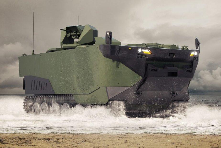 البحرية التركية تبدا بأستخدام مركبة الهجوم البرمائية المدرعة ZAHA اعتبارا من 2022 Turkis13