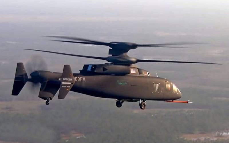 مروحية Boeing-Sikorsky SB>1 DEFIANT Vertol10