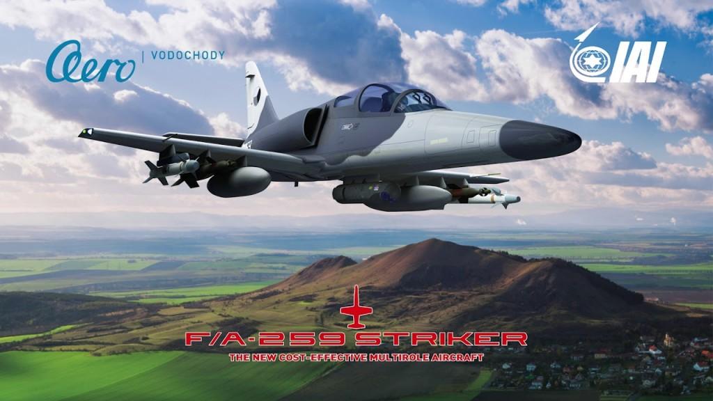 طائرة الهجوم الخفيف F / A-259 Striker التشيكية-الاسرائيلية Video-11