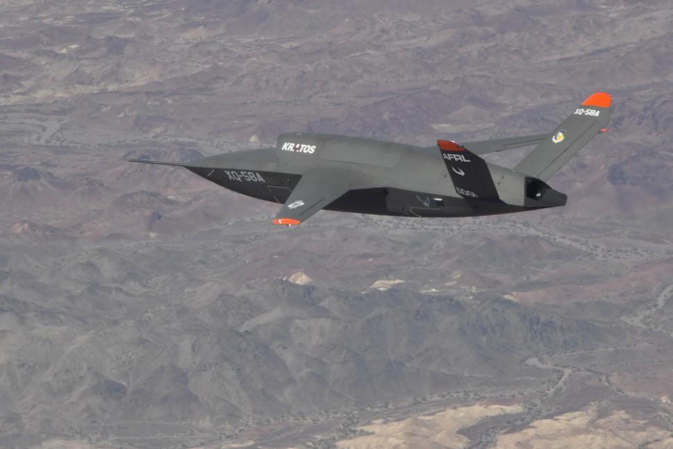 اول فديو للدرون الامريكي طويل المدى XQ-58A Valkyrie Yourfi11