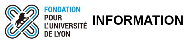 Fondation pour l'Université de Lyon : 3 évènements à ne pas manquer en novembre Fondat10
