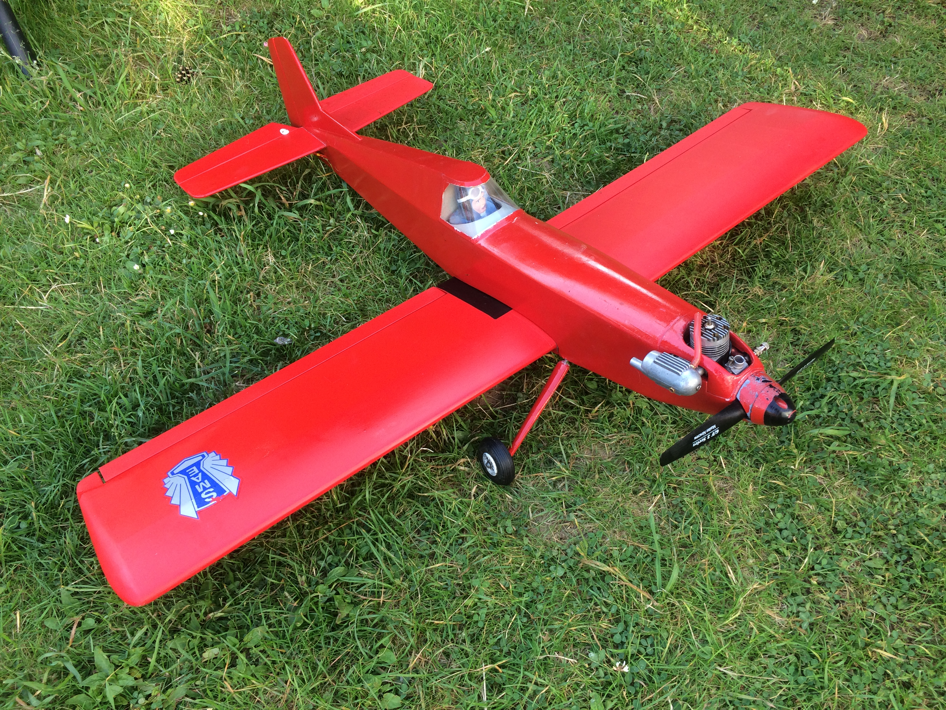 Forsale Vintage Low Wing Aircraft Image11