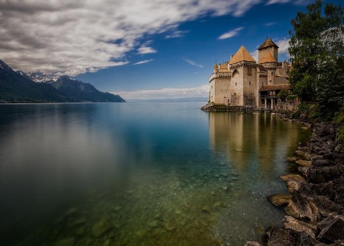 Chillon-slottet, Montreux - Schweiz! Chillo10