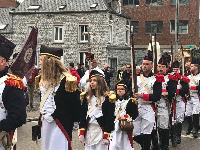 Marche folklorique de l'entre Sambre et Meuse Pentec10