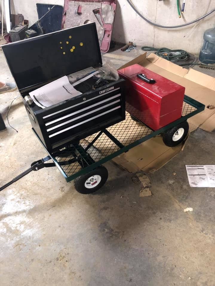 Offroad tool cart Toolbo10