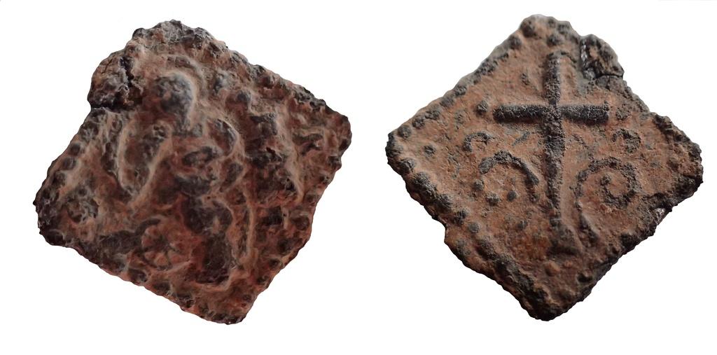 Santa Bárbara / Cruz en el altar. ff. S.XVI- inicios S.XVII Medall10