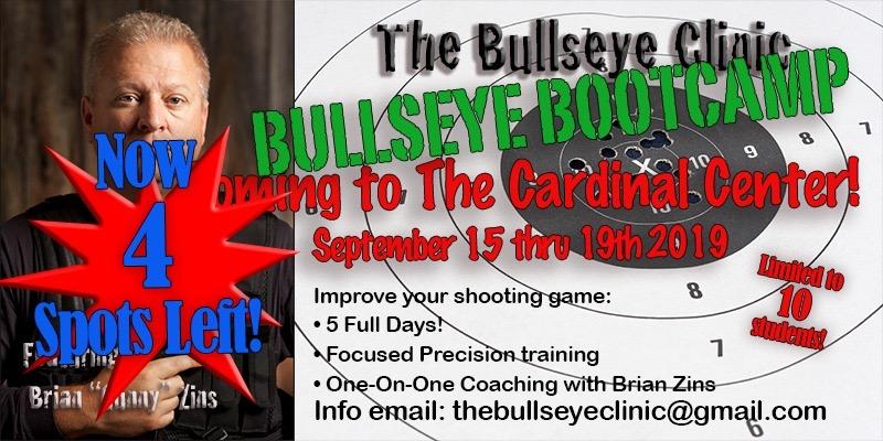 Bullseye Boot Camp with Brian Zins Sept 15-19 3d70c010