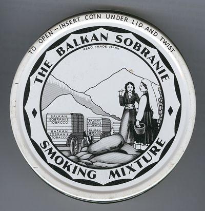 THE BALKAN SOBRANIE. SOBRANIE OF LONDON Af5df410