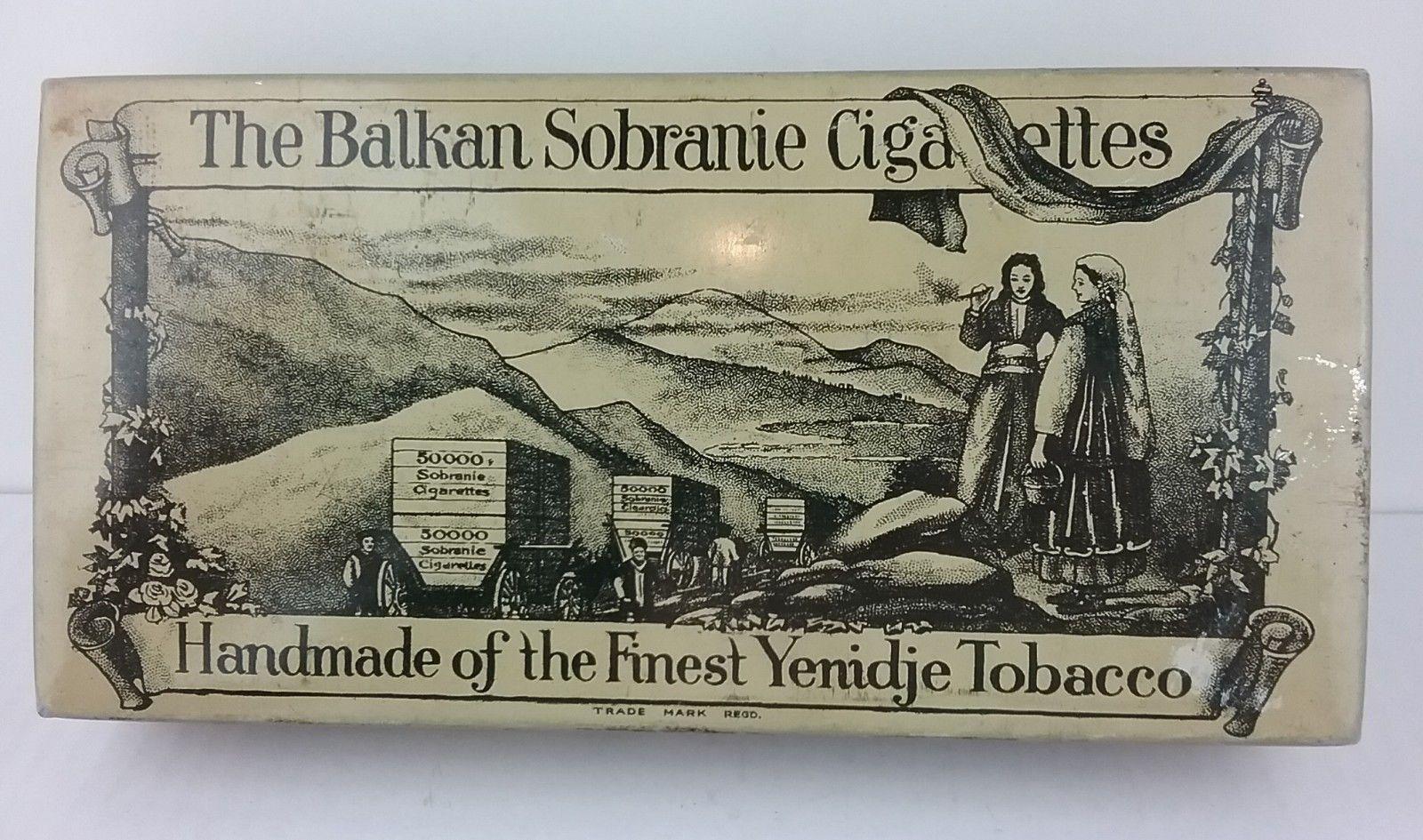 THE BALKAN SOBRANIE. SOBRANIE OF LONDON Antiqu10