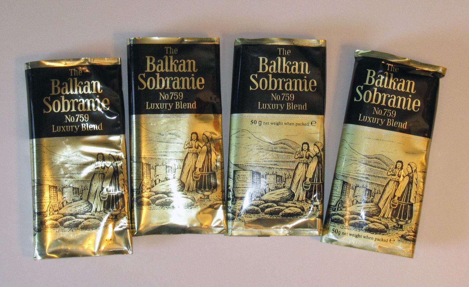 THE BALKAN SOBRANIE. SOBRANIE OF LONDON Balkan10