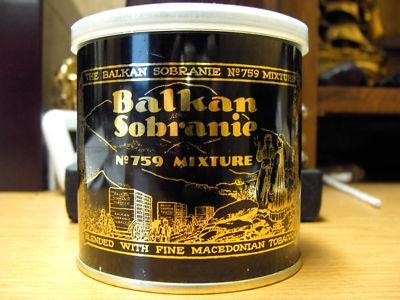 THE BALKAN SOBRANIE. SOBRANIE OF LONDON Balkan11