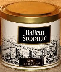 THE BALKAN SOBRANIE. SOBRANIE OF LONDON Balkan12