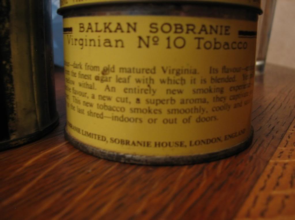 THE BALKAN SOBRANIE. SOBRANIE OF LONDON Img_2810