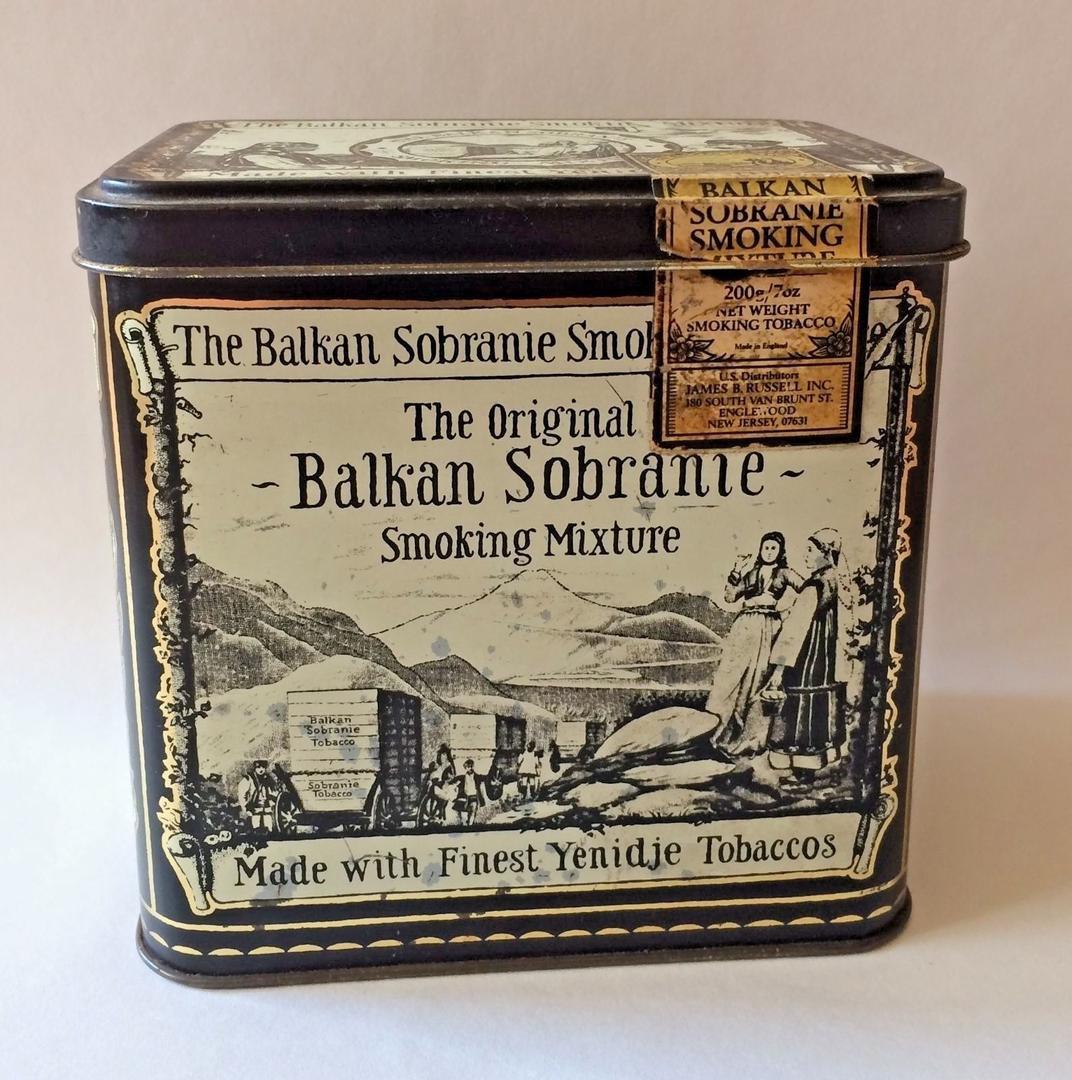 THE BALKAN SOBRANIE. SOBRANIE OF LONDON Origin10