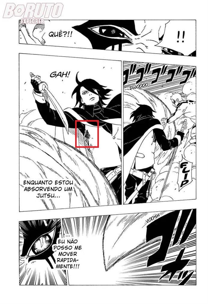 Qual o nível de regeneração do Sasuke ? Boruto35