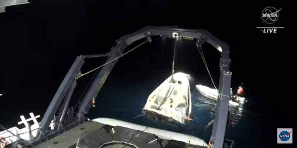 Falcon 9 (Crew Dragon USCV-1) - KSC - 16.11.2020 - Page 15 Screen42
