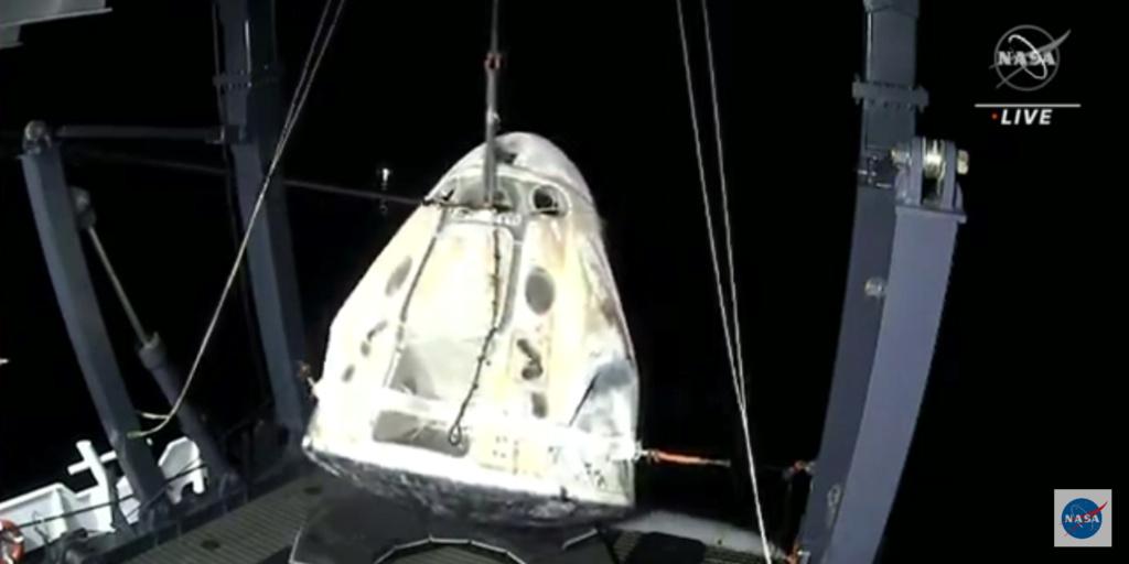 Falcon 9 (Crew Dragon USCV-1) - KSC - 16.11.2020 - Page 15 Screen43