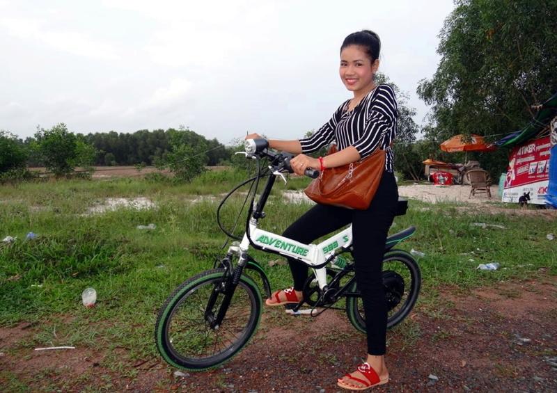 Vietnam, Cambodge en roller, VAE et side-car vélo. Advent14