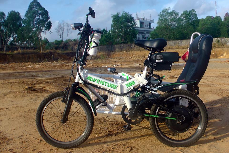 Vietnam, Cambodge en roller, VAE et side-car vélo. S1500010