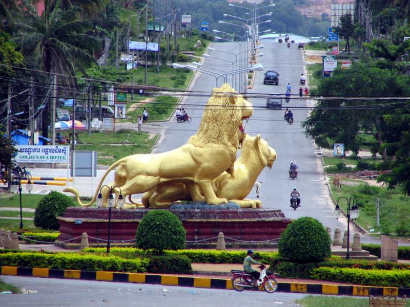 Vietnam, Cambodge en roller, VAE et side-car vélo. Sihano12