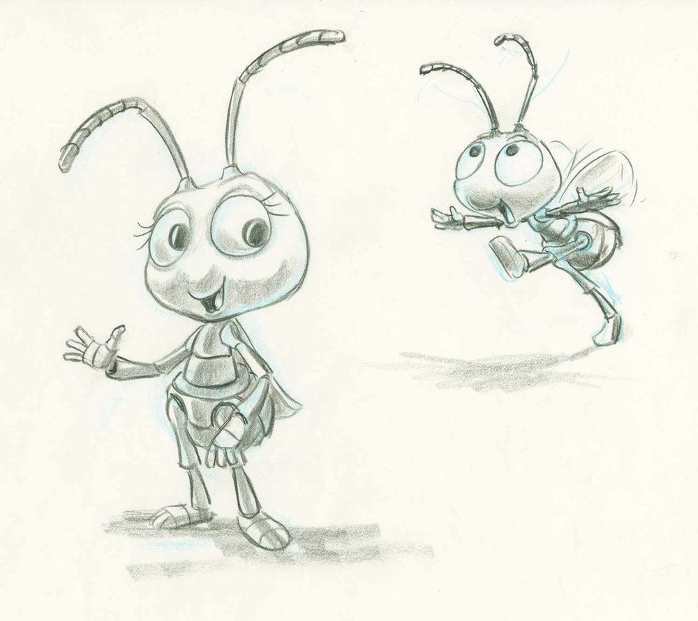 [Pixar] 1001 Pattes (a bug's life) (1998) - Page 2 Bugs_114