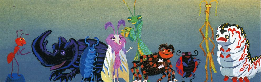 [Pixar] 1001 Pattes (a bug's life) (1998) - Page 2 Bugs_410