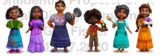 Encanto - La Fantastique Famille Madrigal [Walt Disney - 2021] - Page 2 Encant10