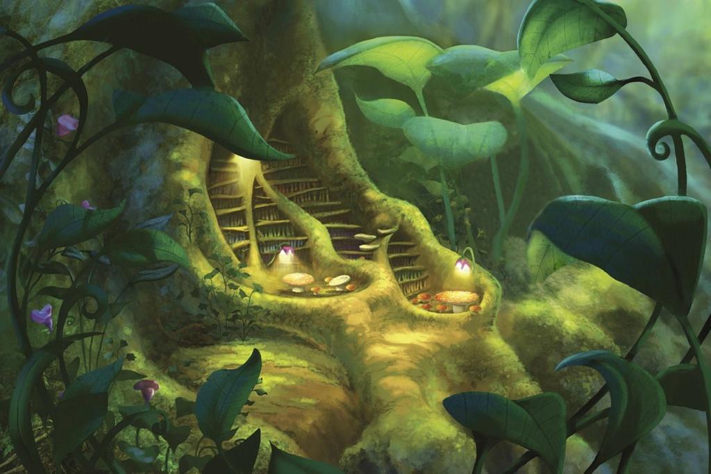 Clochette et le Secret des Fées [DisneyToon - 2012] - Page 14 Librar10