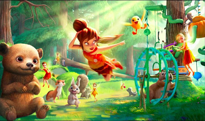 Clochette et la Créature Légendaire [DisneyToon - 2015] - Page 12 Neverb12