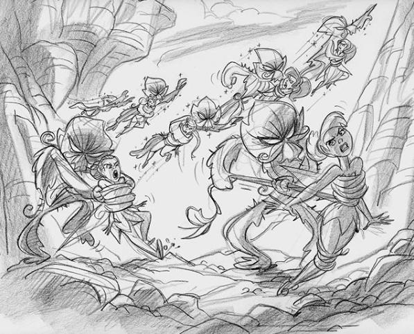 Clochette et la Fée Pirate [DisneyToon - 2014] - Page 14 Queen_22