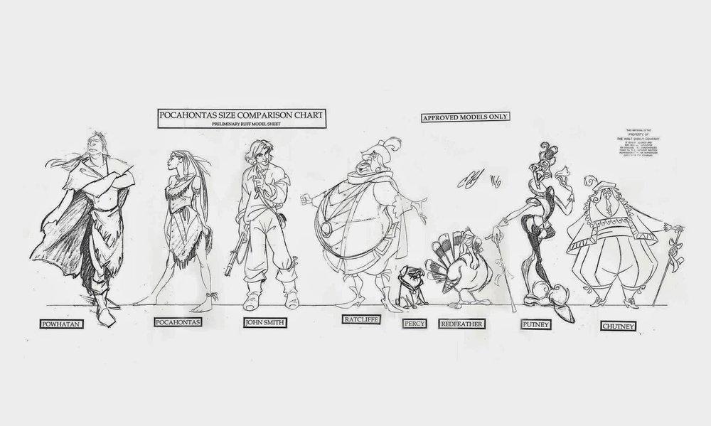 Pocahontas, une Légende Indienne [Walt Disney - 1995] - Page 13 Size10