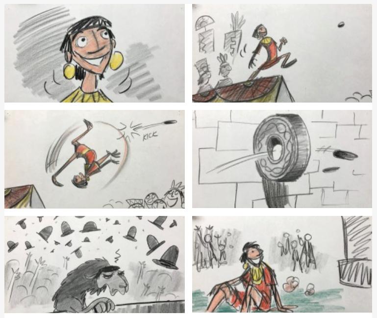 Kuzco, l'Empereur Mégalo [Walt Disney -2001] - Page 6 Tlechi10