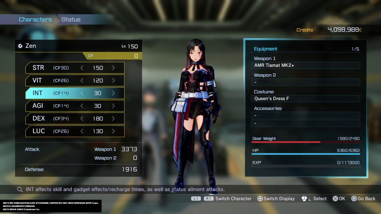 Review: Sword Art Online Fatal Bullet (PS4 Retail) Build10