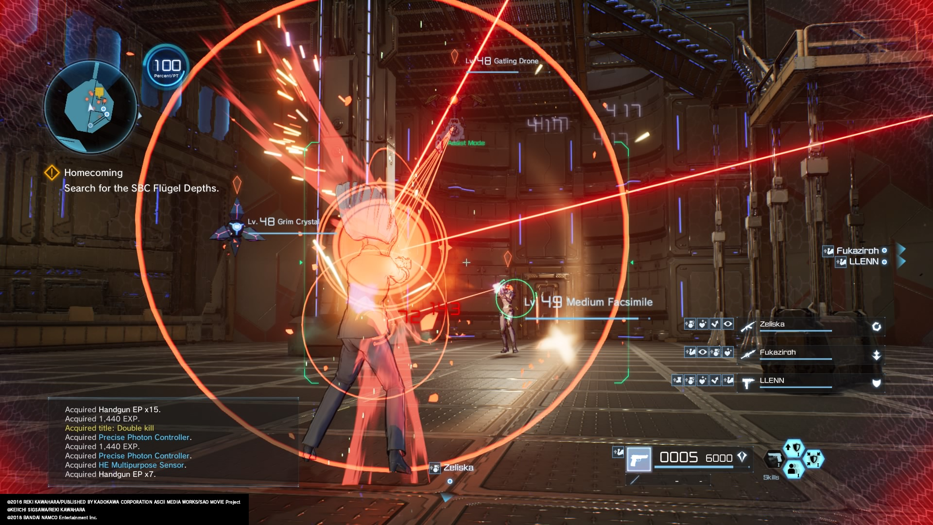 Review: Sword Art Online Fatal Bullet (PS4 Retail) Fucked10