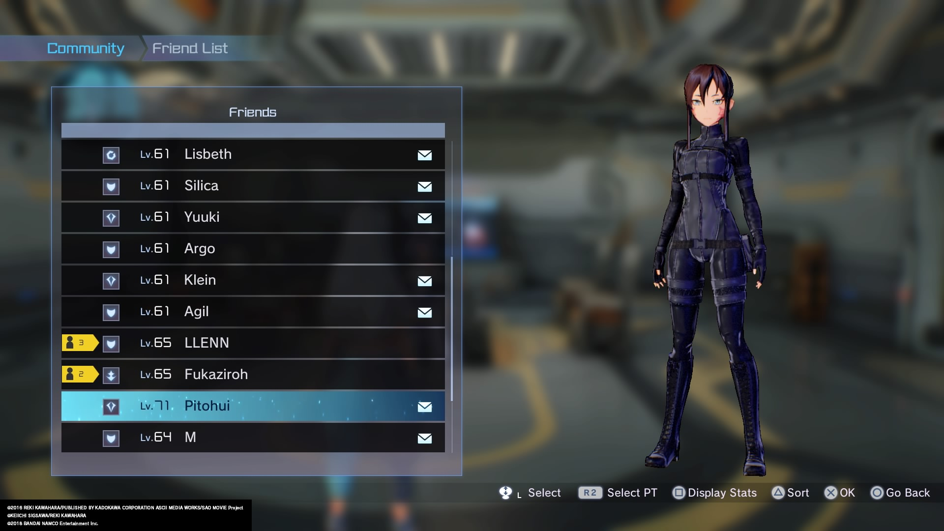 Review: Sword Art Online Fatal Bullet (PS4 Retail) Roles10