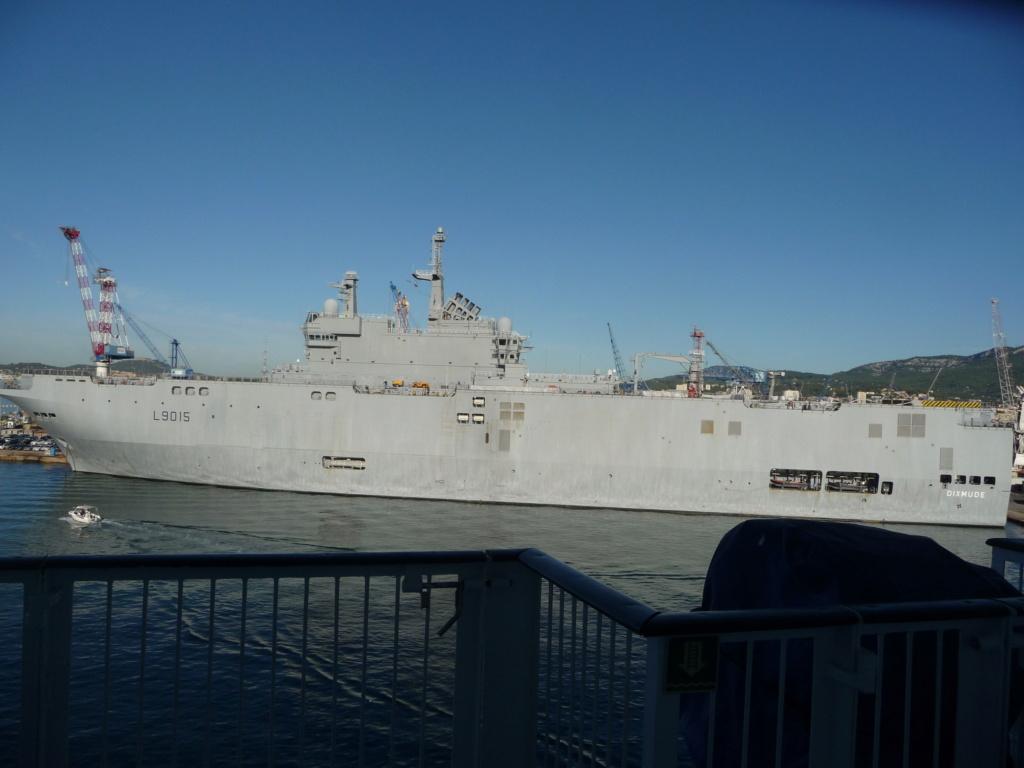 [Les Ports Militaires de Métropole] Visite de la rade de Toulon - Page 14 P1070811