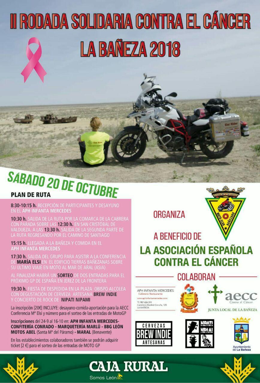 43393 León-León. II Rodada Solidaria contra el Cancer  La Bañeza 2018 1xxxx10