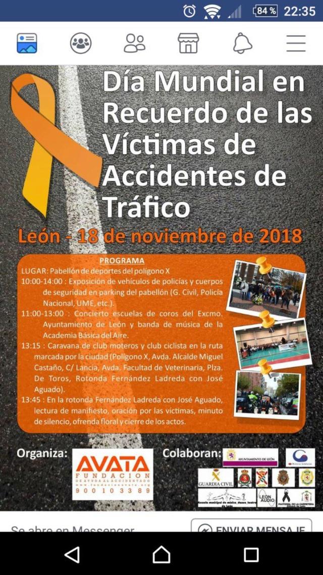 43422 León-León. Día Mundial en recuerdo de las Víctimas de Accidentes de Tráfico Photo_18